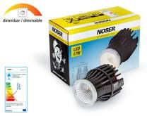 NOSER LED - Modul 17W zu MLED204 & MLED987, 930lm/2454cd, CRI >80, 40°, 3000°K, dimmbar