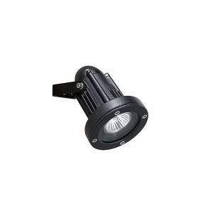 Strahler IP65 HELIO ALUMIUNIUM GU10 35W metallic-schwarz