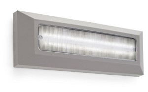 Wandleuchte IP65 KOSSEL DIRECT LED 3.8W 4000K grau 262Lm