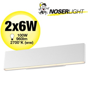 LED Wandleuchte NURIA II 960lm Up and Down