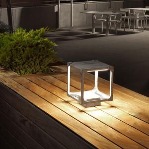LED Aussenleuchte VINTAGE - leicht und kubisch