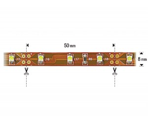 NOSER-LED-Strip, Farbe rot, INDOOR, 12VDC, 25W