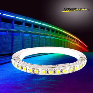 NOSER Digital RGB+WW Strip OUTDOOR, 1m, 24V, IP65