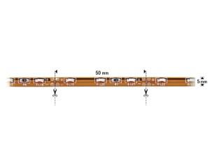 NOSER-LED-Strip weiss, 9000K, seitlich emittierend, INDOOR, 12VDC, 24W