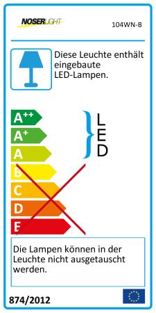 NOSER-LED-Strip rot, seitlich emittierend, INDOOR, 12VDC, 24W