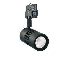 NOSER LED COB-Spotleuchte, schwarz, 15W, 38°, 3000°K - warmweiss