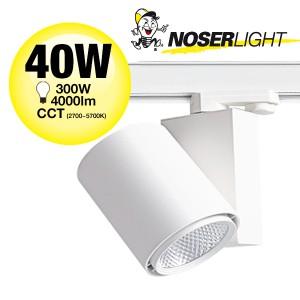 NOSER LED Spotleuchte weiss 40W, 4000lm, 60°, CCT + DIM
