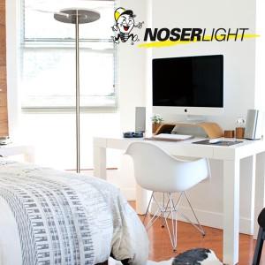 LED Stehleuchte mit schwenkbarem Reflektor