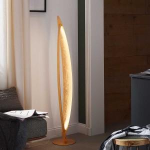 LED Stehleuchte VEGA - goldene Elemente