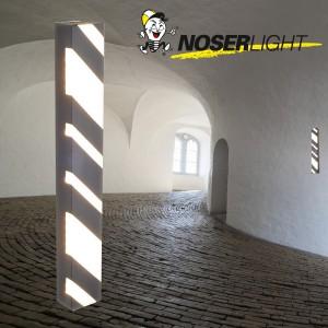 LED Aussenleuchte SIENA, 56cm, antrazith, IP44, warmweisses Licht