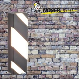 LED Aussenleuchte SIENA, 38cm, antrazith, IP44, warmweisses Licht