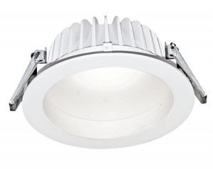 NOSER LED-Downlight 23W, 1800lm, Farbe weiss, 3000°K, dimmbar