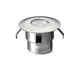 Bodeneinbauleuchten IP65/IP67 GEA LED SIGNALING Ø45mm LED 0.5W 4000K ELOXIERTES