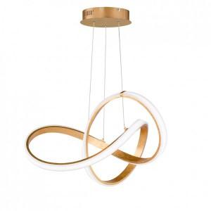 LED Pendelleuchte INDIGO - ausgefallenes, rundes Design
