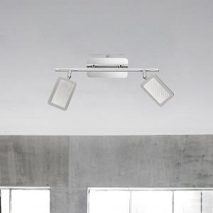 LED Leuchte EXPLID 2flammig - ideale Wand- und Deckenbeleuchtung für alle Räume
