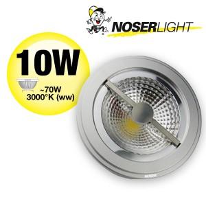LED AR111 Alu-Reflektor, G53, 10W, 12V, 25°