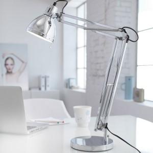 LED Tischleuchte DEVENTER in zeitlosem Industrial-Look, inklusive 12W (60-75W) LED Leuchtmittel
