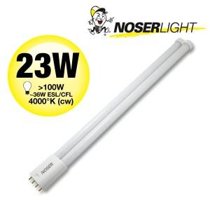 NOSEC-L/LED, 2G11, 23W, 2400lm, 4000°K, kaltweiss