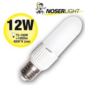 LED NOSEC-E E27, 12W, >1000lm, 840/4000°K