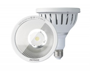 NOSER Retrofit LED-PAR30, 12W, 38°, IP65, warmweiss, Art. Nr. 927.1238