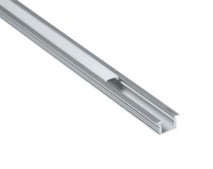 Alu-Einbauprofil 1000x22x12mm, inkl. Abdeckung und Endkappen