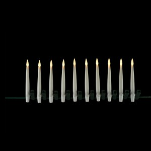 Flat Candle Set grey