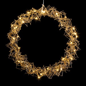 Metallic Wreath 30