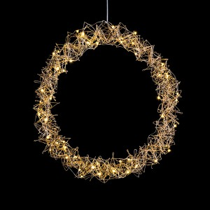 Metallic Wreath 40