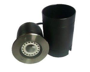 LED Bodeneinbauleuchte, rund, IP67 für LED 230V, Fassung GU10, Art.-Nr. CT-3601