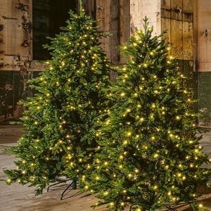 LED Tree 300, 900LED ww, H300cm grün 31V/6W - 5m Kabel, indoor&outdoor, grün warmweiss,