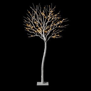 Fairytale Tree 150 weiss,  , 138LED ww, H150cm, 24V/6W- 3m Kabel , indoor&outdoor, weiss, , warmweiss,