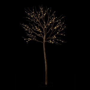 Fairytale Tree 150 brown, 138LED ww, H150cm, 24V/6W - 3m Kabel , indoor&outdoor, brown, warmweiss,