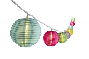 Lantern Light 10 Multicolor