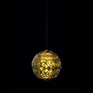 Tree balls gold 80
