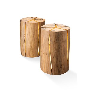 Fin Candle tree trunk 50