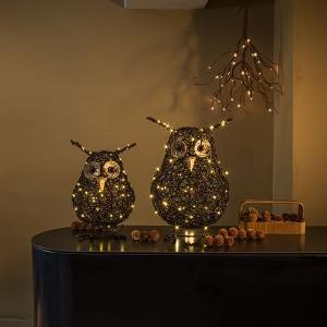 Snooki Rattan owl S