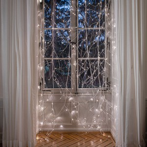 Branch Curtain weiss, 312LED ww, 1.4 x 2.5m, 12V/7.2W - 5m Kabel, indoor, weiss, , warmweiss,