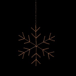 Angel Flake Nero , 430LED sww, D50, schwarz, 4.5V/6W - 5m Kabel, indoor&outdoor, schwarz, sunny-ww