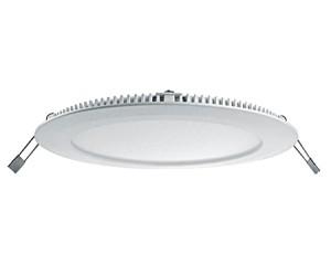 "LED Einbauleuchte / LED Downlight ""Slim"", Farbe weiss, 18W, 240V, 2700-3000°K warmweiss"