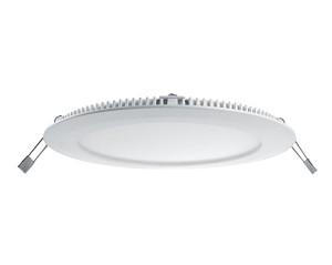 "LED Einbauleuchte / LED Downlight ""Slim"", Farbe weiss, 18W, 240V, 5000-6500K tageslicht"
