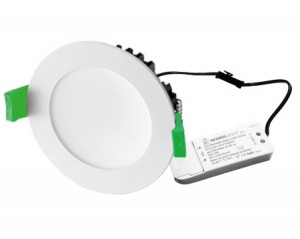 NOSER LED Downlight dimmbar, weiss, 20W, 1600lm, CCT, 3000°K-6500°K, inkl. Driver