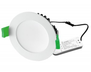 NOSER LED Downlight dimmbar, weiss, 35W, 2700lm, CCT, 3000°K-6500°K