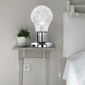 LED Tischleuchte FUTURA - die überdimensionale Glühbirne
