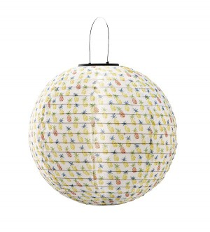Solar Lantern Pineapple 30