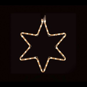 LED Star,  warmweiss