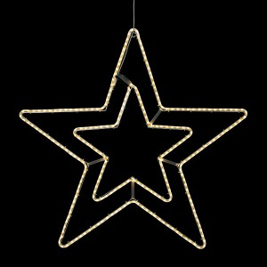 LED Double Star WW