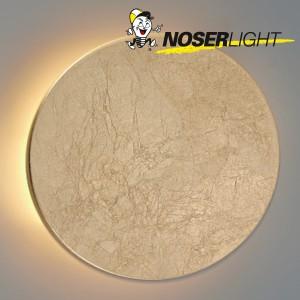 """NOSER LED Decken-/Wandleuchte """"SUN"""", blattgold, 12W, Art-Nr WLB100812W"""