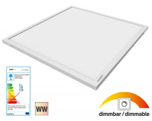 NOSER LED PRO-SERIES 19W, 1400lm, CRI>80, 120°, 300x300mm, Art. Nr. XPL-3030WW