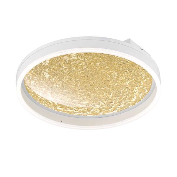 BALI Wand-/Deckenleuchte goldfarbig