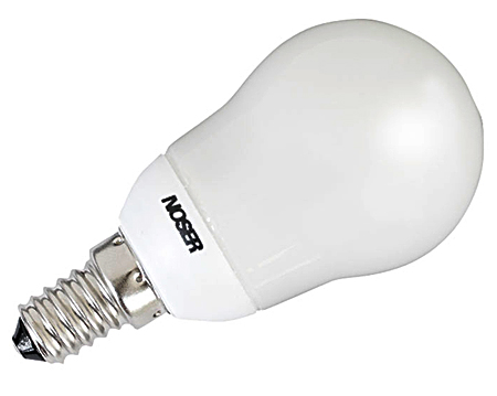 NOSEC-T 8W 400lm, E14, 827 -2700K- warmweiss
